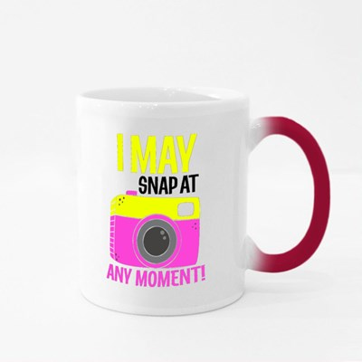 I May Snap at Any Moment Magic Mugs