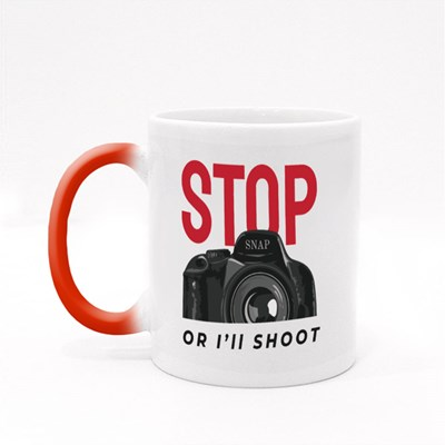 Stop or I'll Shoot Magic Mugs
