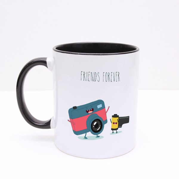 Funny Camera and Camera Roll Colour Mugs