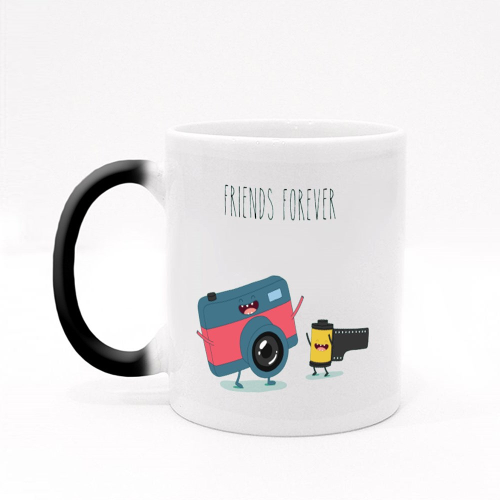 Funny Camera and Camera Roll Magic Mugs