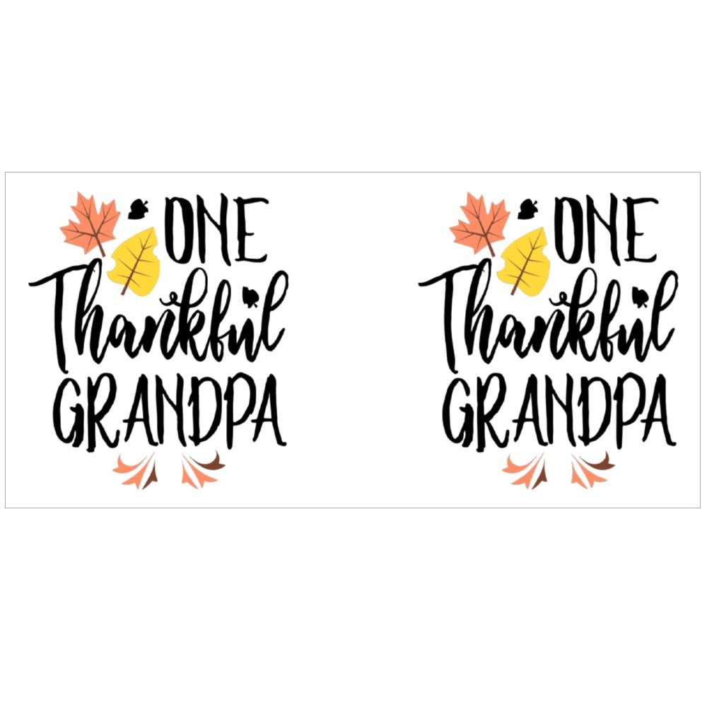 One Thankful Grandpa Saying Magic Mugs