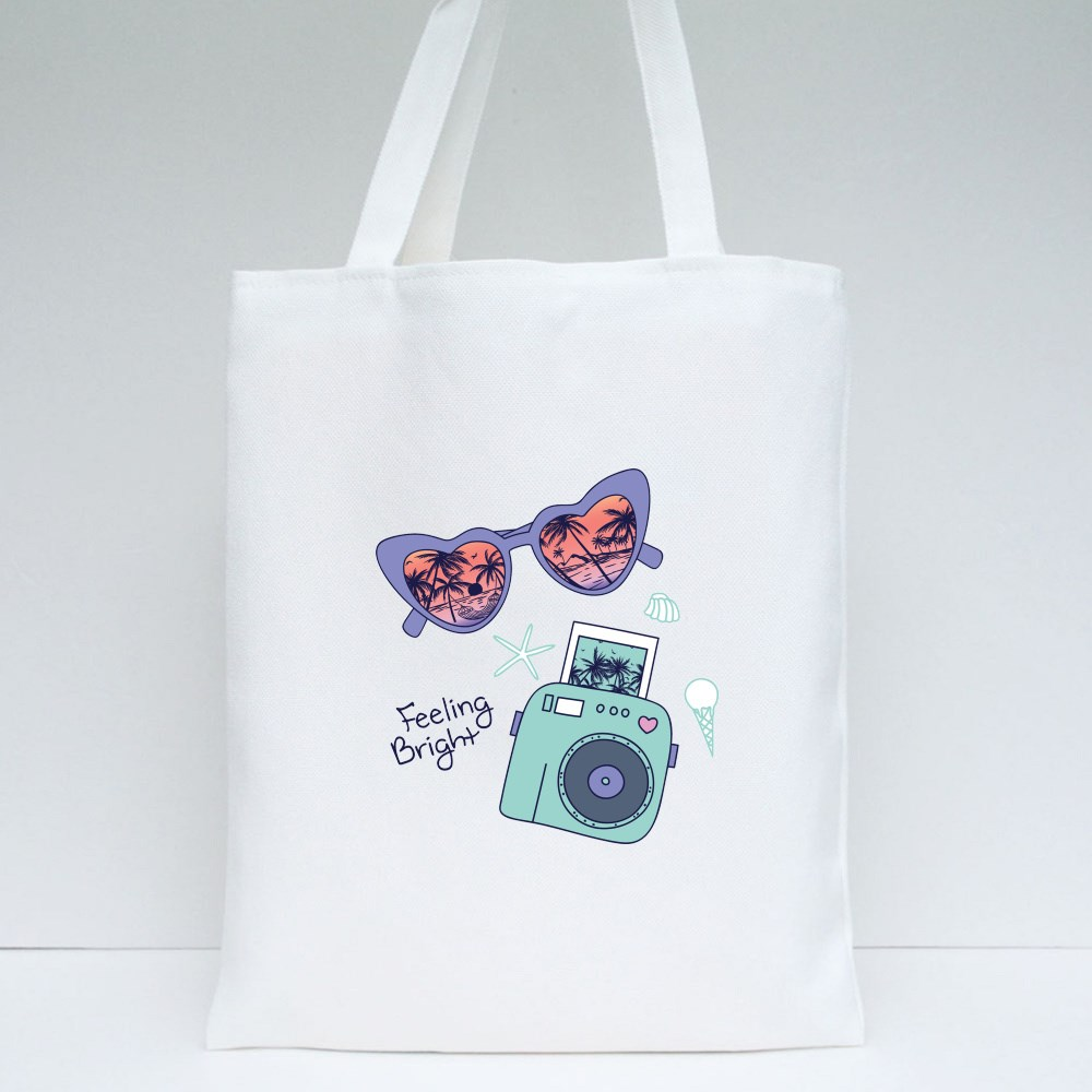 Feeling Bright Tote Bags