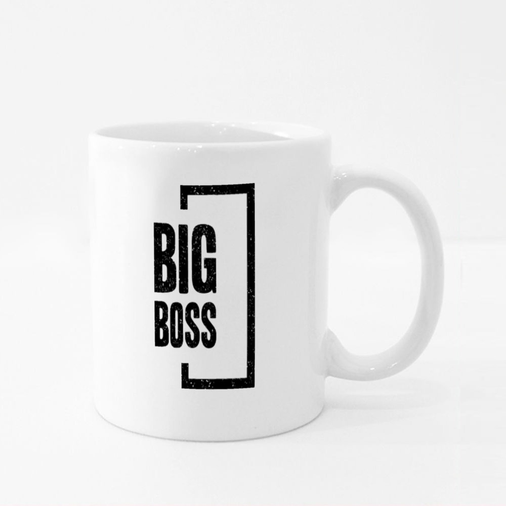 The One and Only Big Boss Colour Mugs