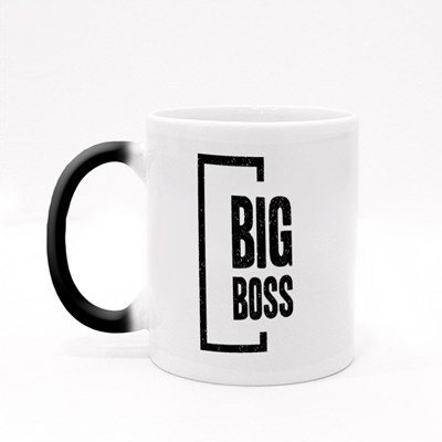The One and Only Big Boss Magic Mugs