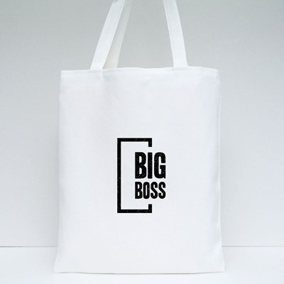 The One and Only Big Boss Tote Bags