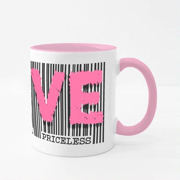 True Love Is Priceless Colour Mugs