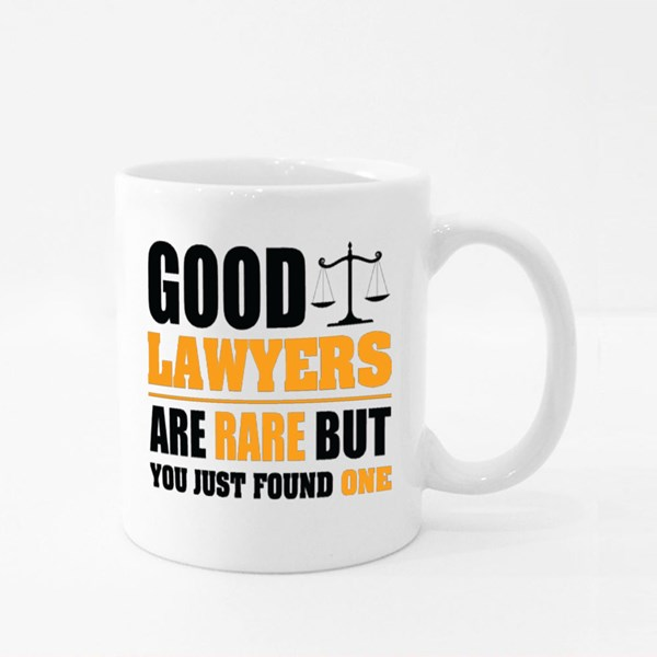 Good Lawyers Are Rare Colour Mugs