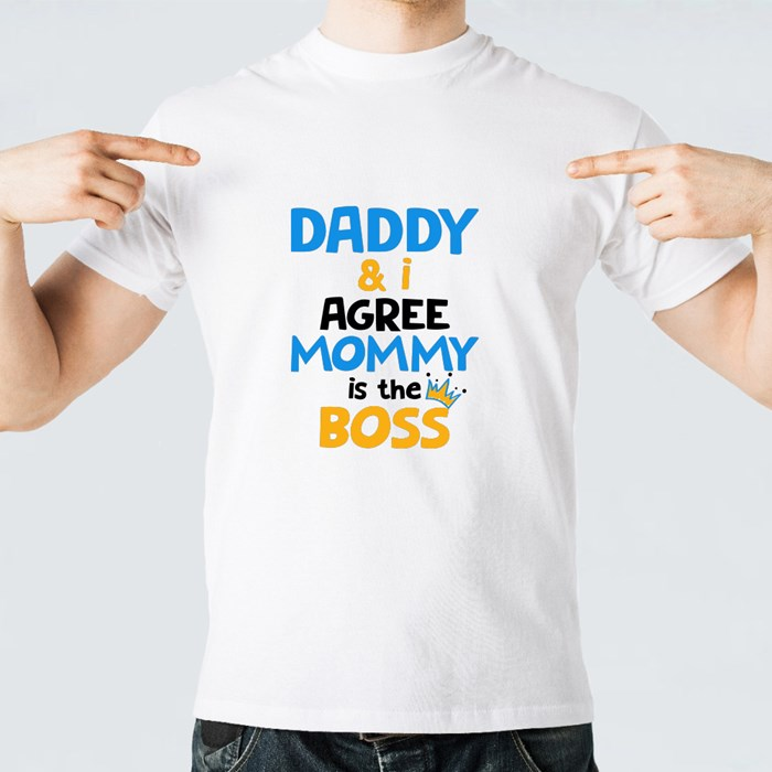 Daddy and I Agree T-Shirts