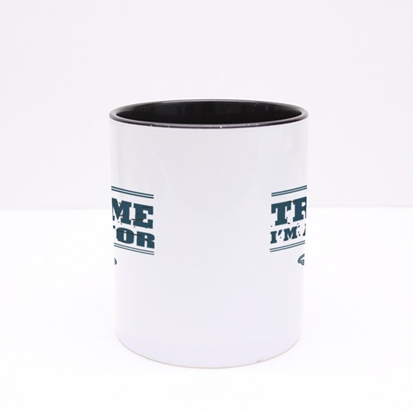 Trust Me I Am a Doctor Colour Mugs