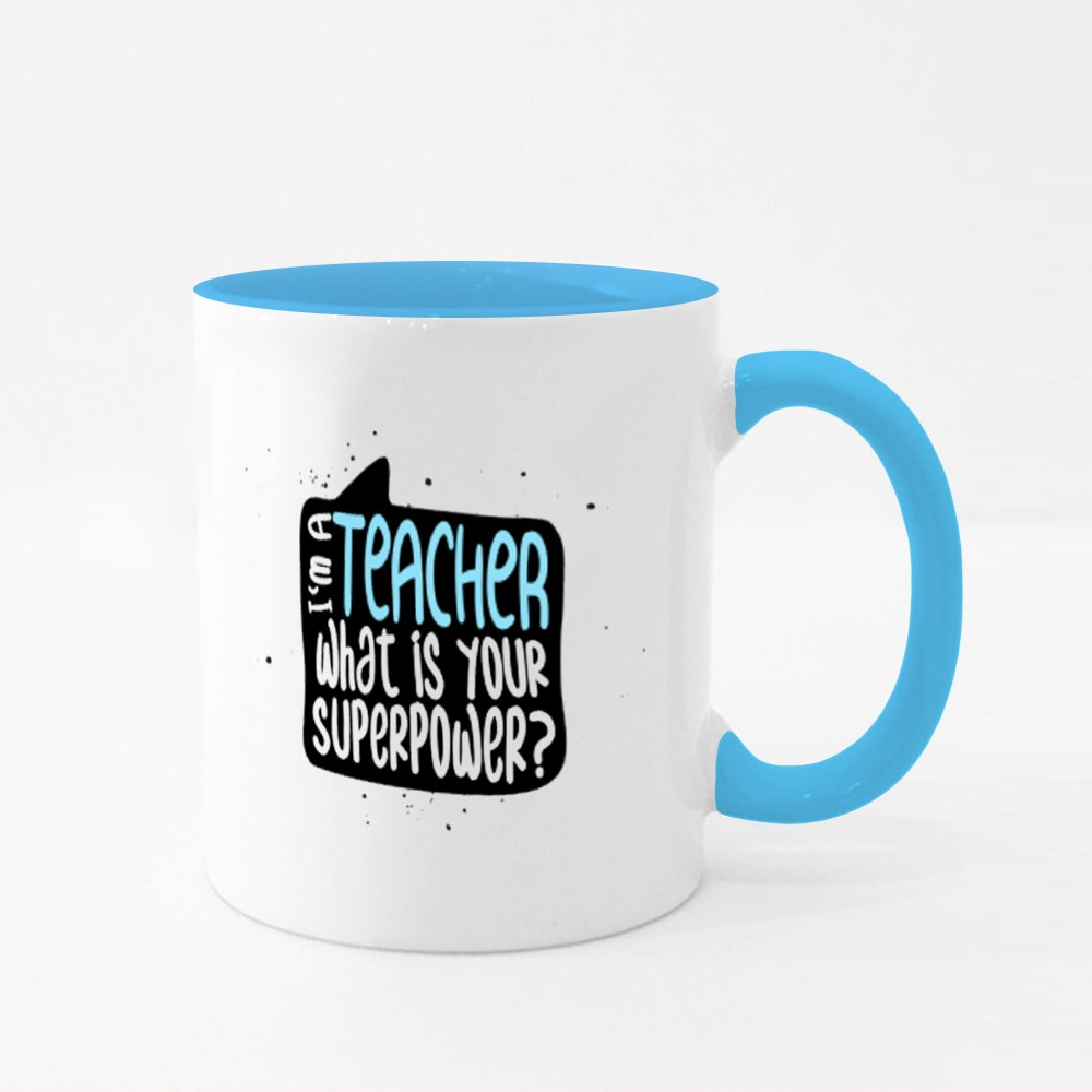 What Is Your Superpower? Colour Mugs