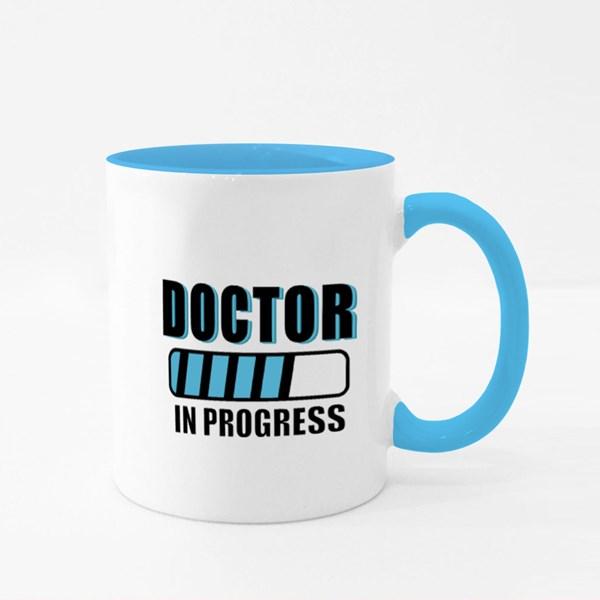 Doctor in Progress Colour Mugs