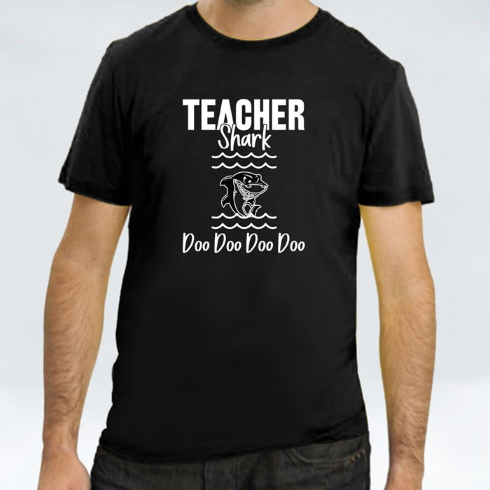 Teacher Shark Doo Doo Doo Doo T-Shirts