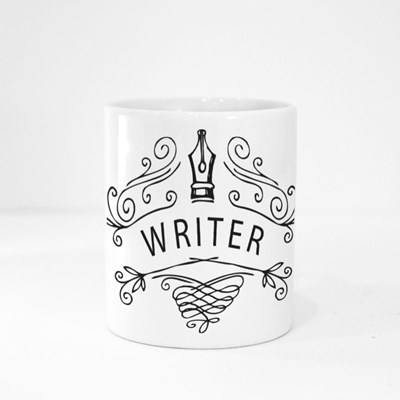 Typewriter, Books, Angel Magic Mugs
