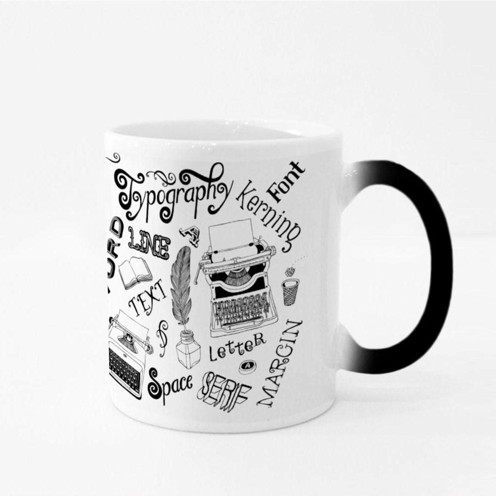Typography Vector Doodles Magic Mugs