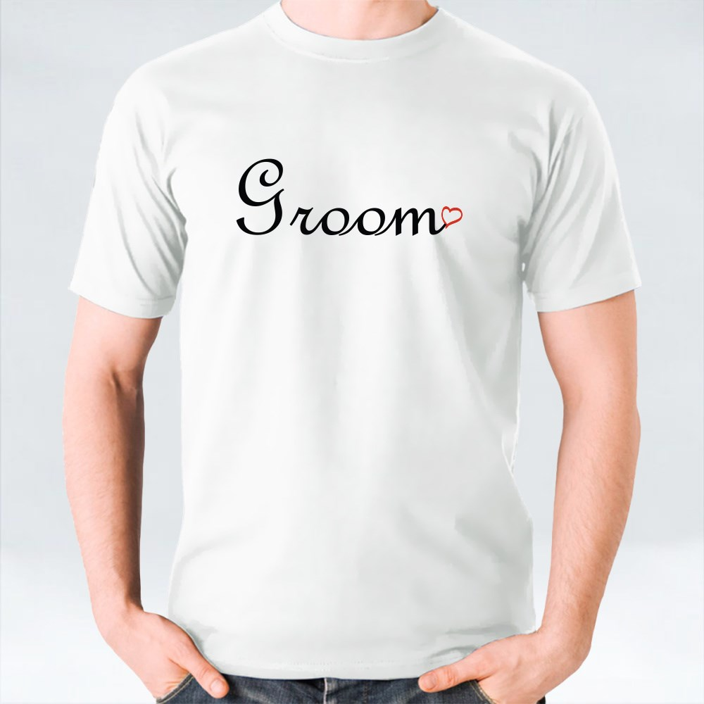 Clothing > T-Shirts > Groom and Love