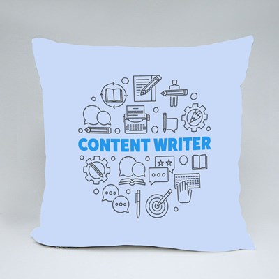 Content  Writer Throw Pillows