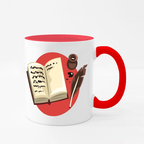 Writer Profession Colour Mugs