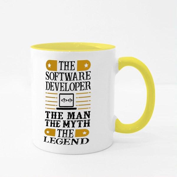 Software Developer Colour Mugs