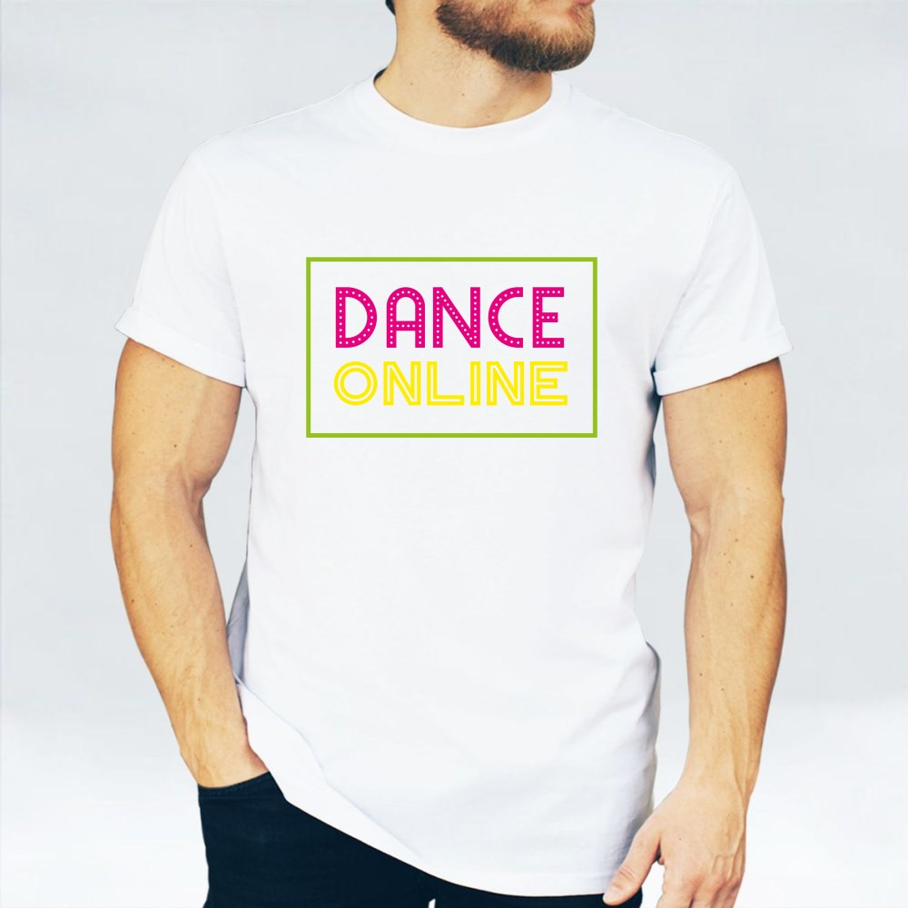 Dance Online Colorful T-Shirts