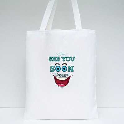 See Soon Brother Tote Bags