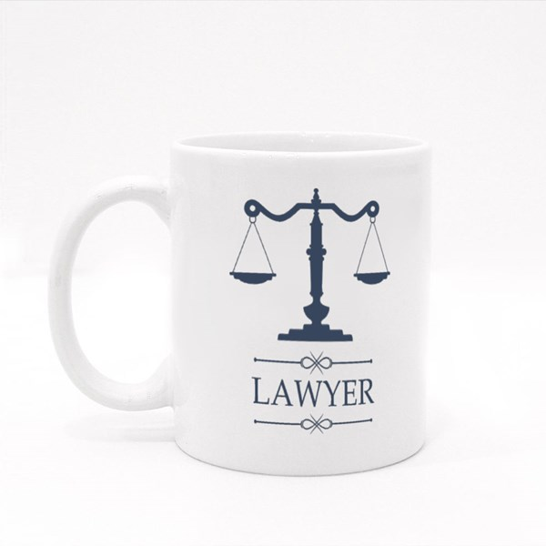 Legal Center or Law Advocate Colour Mugs