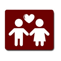 Boy and Girl Icon With Love
