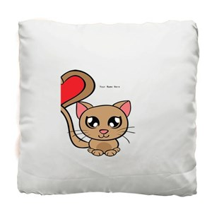Cat With Love Tail Right Side