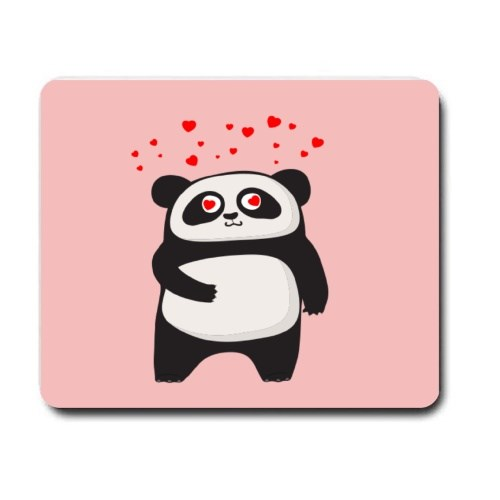 Mousepads > Mousepads (Rectangle) > Cute Panda in Love