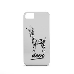 Deer With Pattern