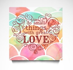 Do Things With Great Love