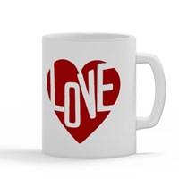 Heart Love Typography
