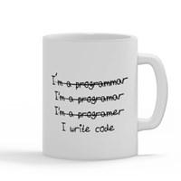 I'm Programmer I Write Code