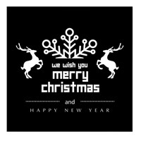 We Wish You Merry Christmas and Happy New Years