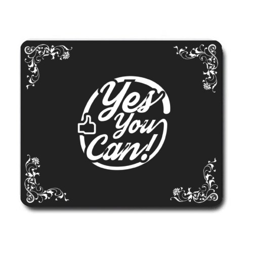 Mousepads > Mousepads (Rectangle) > Yes You Can