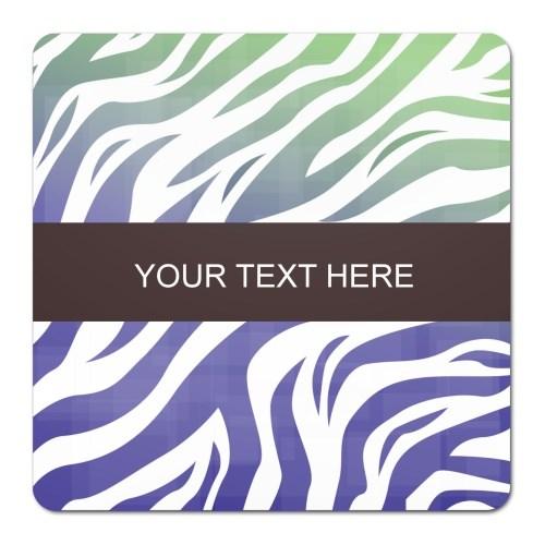 Coasters > Coasters (Square) > Zebra Pattern
