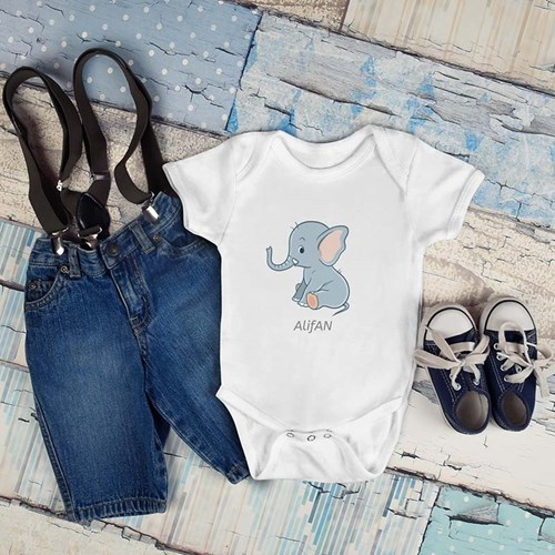 Printcious Inspiration - Baby Rompers > Baby Rompers (Short Sleeve)